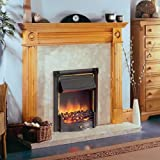 Glen HORTON HTN20BL Inset Fire Optiflame Plus® Real Coals Black