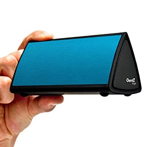 The OontZ Angle Ultra Portable Wireless Bluetooth Speaker - Better Sound, Better Volume, Incredible Online Price - The Perfect Speaker to take everywhere with you this summer (Blue)