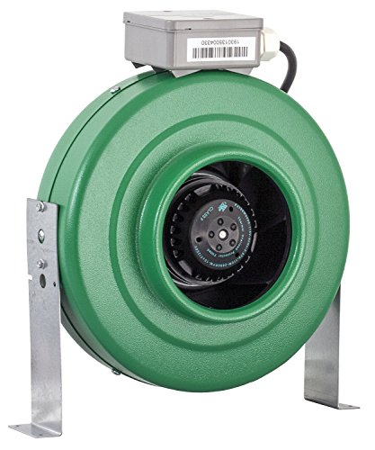 10 Inch Inline Fan : Hydrofarm active air inch inline fan review how to