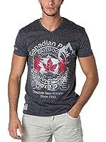 CANADIAN PEAK Camiseta Manga Corta Japple (Gris Oscuro)