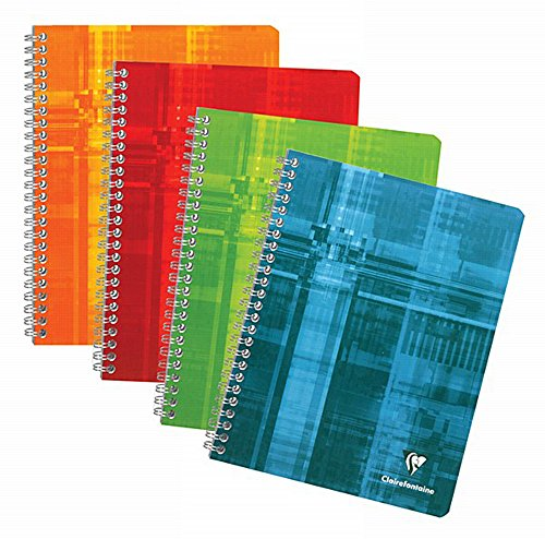 Clairefontaine Wireound Book 8.25X11.75 Graph front-227257