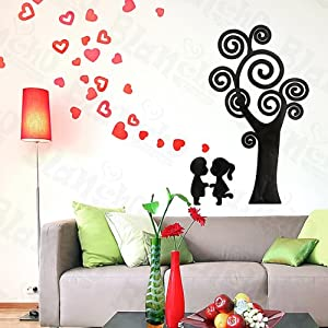 Youngsters love wall decals stickers appliques home for Home decorations amazon
