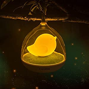 テーブルライト 卓上照明 タッチセンサーランプ ledライト 2段階調光 LED タッチセンサーランプ 間接照明 スタンドライト テーブルランプ インテリアライト かわいい鳥籠タイプ ナイトライト デスクライト スタンド照明 (オレンジ)