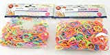 Neon Bands, Rubber Loom Rainbow 1200 Pcs Rubber Bands with 48 S Clip Clasps. Assorted Neon Colors, Latex Free - For Jewelry Making Friendship Bracelets with Bead Looms. Brand: Perfect Life Ideas -TmÃ'®