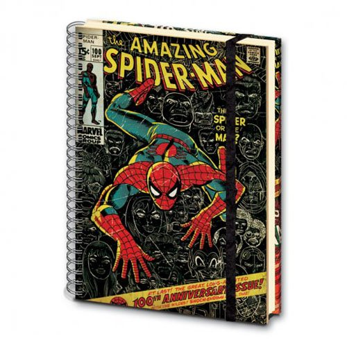 Marvel Spiderman A4 Notebook