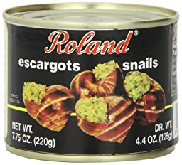Roland Escargot Snails, Very Large, 7.75 Ounce (Pack of 12)