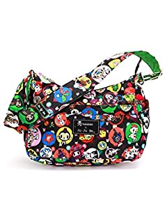 Ju-Ju-Be HoboBe Diaper Bag, TokiDoki Bubble Trouble by Ju Ju Be