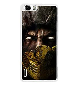 Scary Man 2D Hard Polycarbonate Designer Back Case Cover for Huawei Honor 6