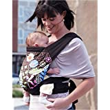 Baby Sling Carrier 3 in 1 Front-Back-Hip Lightweight Comfortable Cotton 100% for Newborn to Toddlers 8 to 35 Lbs (Dandelion)
