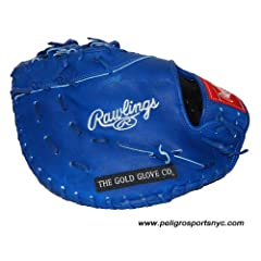 Custom PROAP Heart of the Hide First Base Mitt Royal by Rawlings