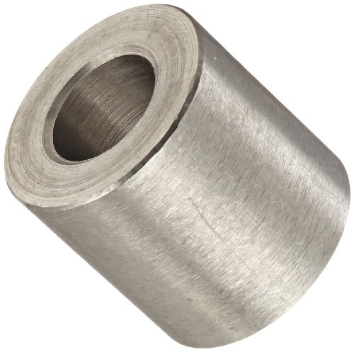 Round spacer stainless steel plain finish