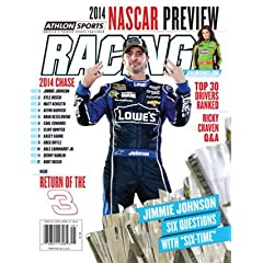 2014 Athlon Sports NASCAR Racing Preview Magazine- Jimmie Johnson Danica Patrick... by Athlon Sports Collectibles