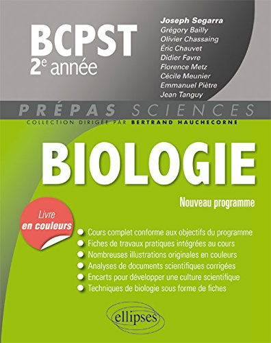 Biologie BCPST 2e Année