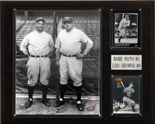 MLB Ruth-Gehrig New York Yankees Player Plaque at Amazon.com