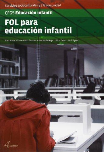 (1) gs - fol para educacion infantil - educacion infantil - servicios socioculturales y a la comunidad