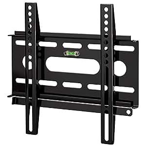 """Hama TV-Wandhalterung """"Ultraslim"""" für 25 - 94 cm Diagonale (10 - 37 Zoll), für max. 25 kg, VESA bis 200 x 200, schwarz"""