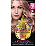 Garnier Olia Brilliant Hair Color, 8.22 Medium Rose Gold (Pack of 2)