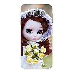Premium Bride Angel Doll Multicolor Back Case Cover for Galaxy E7