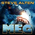 Meg: A Novel of Deep Terror with Meg: Origins (       UNABRIDGED) by Steve Alten Narrated by Sean Runnette