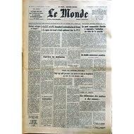 MONDE (LE) [No 9293] du 01/12/1974 - ELECTIONS ANTICIPEES EN TURQUIE - LES CONFLITS SOCIAUX ET LA CRISE DE L'EMPLOI...