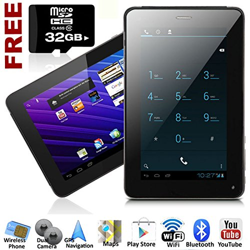 7-Inch Phablet Smart Phone + Tablet Pc Android 4.0 Bluetooth Gps Wifi Unlocked!