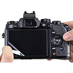 JJC GSP-70D Optical Glass LCD Screen Protector Film for Canon EOS 70D DSLR