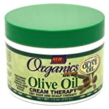 Africas Best Organics Olive Oil Cream Therapy 7.5oz Jar for Dry Hair & Scalp (Case of 6)