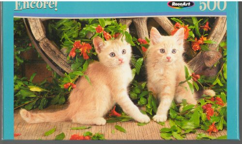 RoseArt Encore Blonde Beauties 500 Piece Puzzle