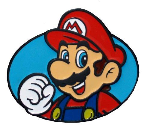 Nintendo Super Mario Bros-Cintura con fibbia in metallo