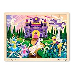 [Best price] Puzzles - Melissa & Doug Fairy Fantasy Jigsaw 48 Piece - toys-games