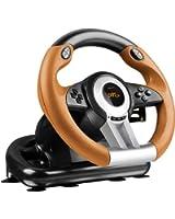Speedlink Drift O.Z. Volant pour Playstation 3 (Palettes et Levier de Vitesses, Pédales Accélération et Frein, Xinput et Directinput, Vibrations)