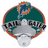 Miami Dolphins - NFL Tailgater Metal Hitch Cover With Bottle Opener at Amazon.com
