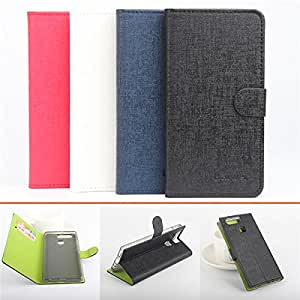 Green Bottom Flip PU Leather PC Cover Card Wallet Protective Case For Huawei P9**