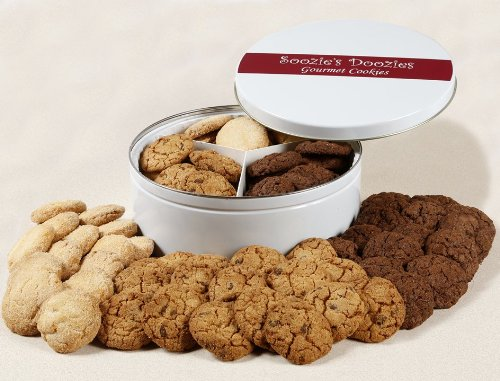 Soozies Doozies Crispy Butter Cookie Gift Tin