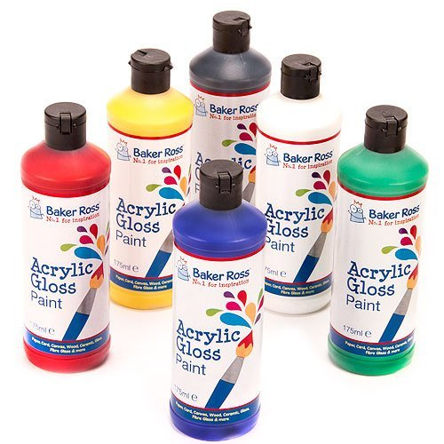 acrylic-paint-pack-a-175ml-of-6-assorted-colours-water-based-paint-for-childrens-painting-crafts-pac