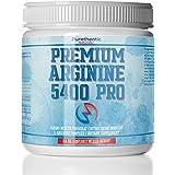 L-Arginine Powder 5400mg - Premium Nitric Oxide Powder - Supports Blood Pressure & Cholesterol - Best Tasting (Mixed Berry)- Promotes Natural Energy & Cardiovascular Health - (9.4 oz)