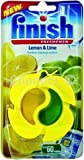 Finish Finish lemon & lime dishwasher freshener dual chambers work together to freshen the machine with lemon & lime scent (Electruepart)