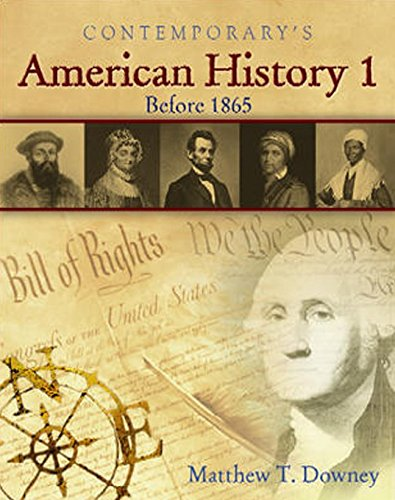 American History 1 (Before 1865), Softcover Student Edition with CD-ROM (American History II)