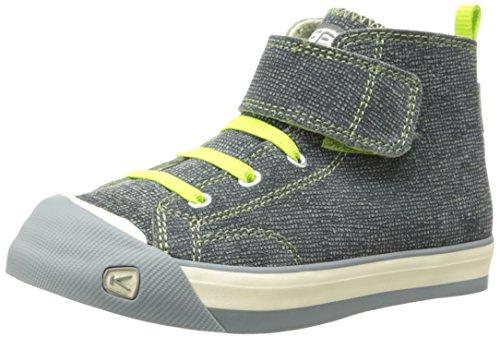 Keen Coronado High Top Ch Sneaker (Toddler/Little Kid),Green Plaid,8 M Us Toddler front-183417
