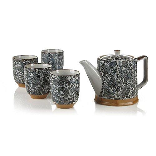 Teavana Paisley Teapot Set
