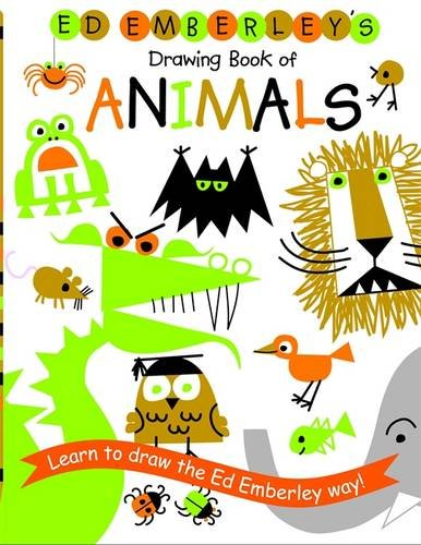 Ed Emberley's Drawing Book of Animals (Kid Drawing Book compare prices)