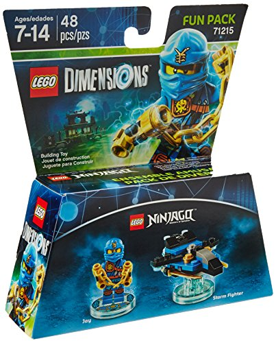 LEGO-Dimensions-Exclusive-Ninjago-Jay-Fun-Pack-71215