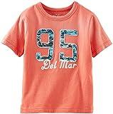 OshKosh B'gosh Logo Tee (Toddler/Kid) - Orange-5T