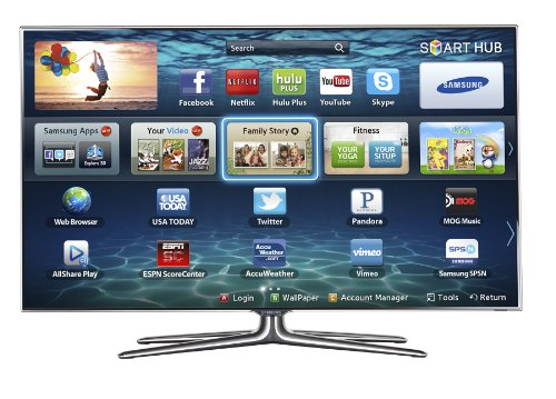 Samsung UN60ES7100 60-Inch 1080p 240Hz 3D Slim LED HDTV (Black)