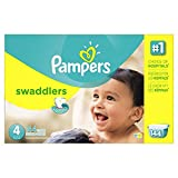 Pampers Swaddlers Diapers Size 4 Econ...