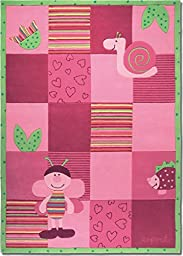 Esprit Home for Kids Bee Area Rug 4-feet 7-inch by 6-feet 7-inch(5x7)