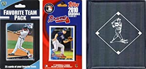 MLB Atlanta Braves Licensed 2010 Topps Team Set and Favorite Player Trading Cards... by C&I Collectables