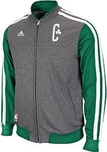 Boston Celtics Adidas 2013 NBA On-Court Premium Full Zip 2nd Season Jacket by adidas