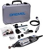 Dremel Coffret 4000 JD avec outil rotatif multifonctions Dremel 4000, 65 accessoires en coffret mini, arbre flexible, coffret robuste et autres accessoires F0134000JD