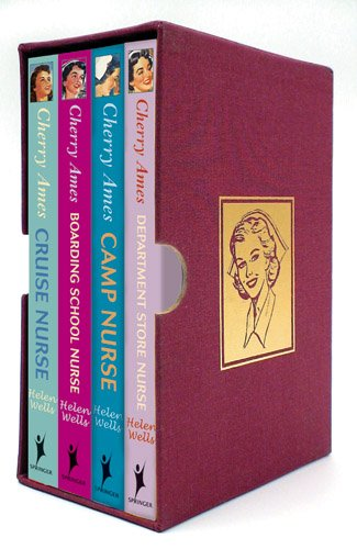 Helen Wells - Cherry Ames Nursing Series Boxed-Set (Books 9-12) Cruise Nurse, Boarding School Nurse, Department Store Nurse and Camp Nurse